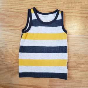 Toddler boy striped tank